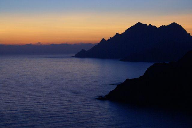 Zdjęcia: Zatoka Porto, wybrzeże zachodnie, Korsyka, Zachód, zachód i po zachodzie..., FRANCJA