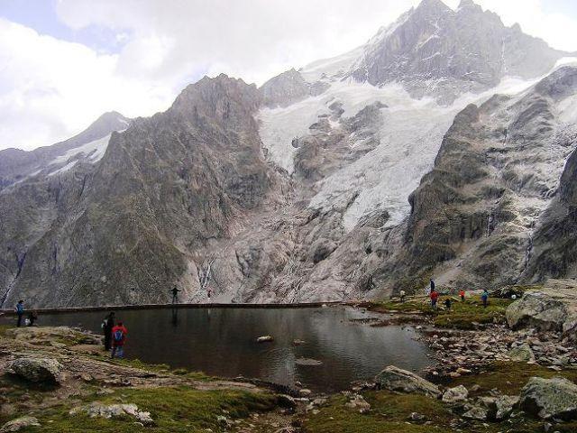 Zdjęcia: La Grose, Alpejskie jezioro, FRANCJA