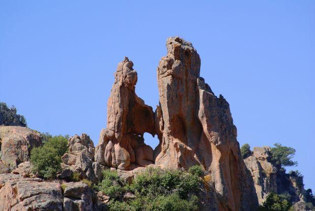 Zdjęcia: wybrzeże zachodnie, Korsyka, Miłość z wzajemnością :-), FRANCJA