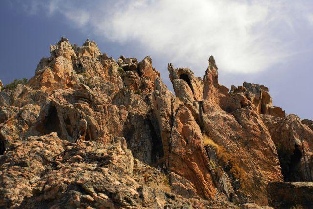 Zdjęcia: Calanche de Piana, Korsyka, Kogutki, FRANCJA