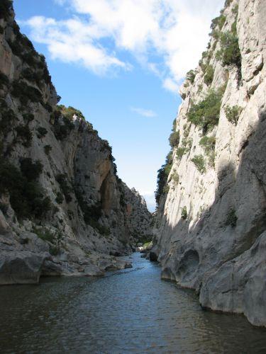 Zdjęcia: Tautavel, wscgodnie Pireneje, kanion, FRANCJA