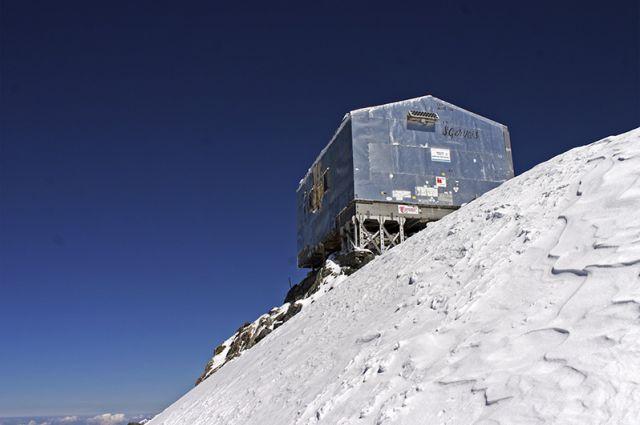 Zdjęcia: Caf Vallot, Mont-Blanc, Wejście na Mont-Blanc, FRANCJA