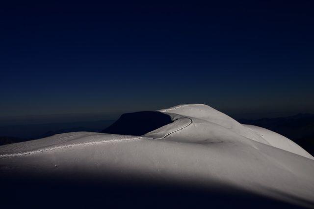 Zdjęcia: Gouter, Mont-Blanc, Wejście na Mont-Blanc, FRANCJA