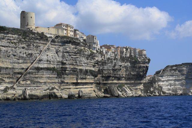 Zdjęcia: Bonifacio, Korsyka, Na klifie, FRANCJA