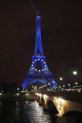 Zdjęcia: Paryż, Paryż, Wieczór nad Sekwaną, FRANCJA