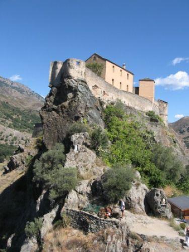 Zdjęcia: Corte, Korsyka, Cytadela w Corte, FRANCJA