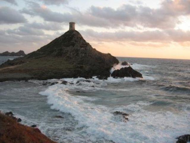Zdjęcia: okolice Ajaccio, Korsyka, Cypel de la Parata, FRANCJA