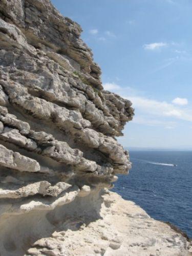 Zdjęcia: Bonifacio, Korsyka, Skały w Bonifacio, FRANCJA