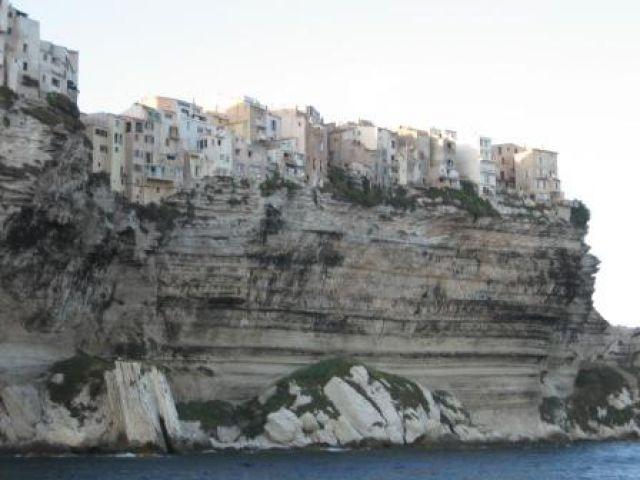Zdjęcia: Bonifacio, Korsyka, Osiedle szaleńców, FRANCJA