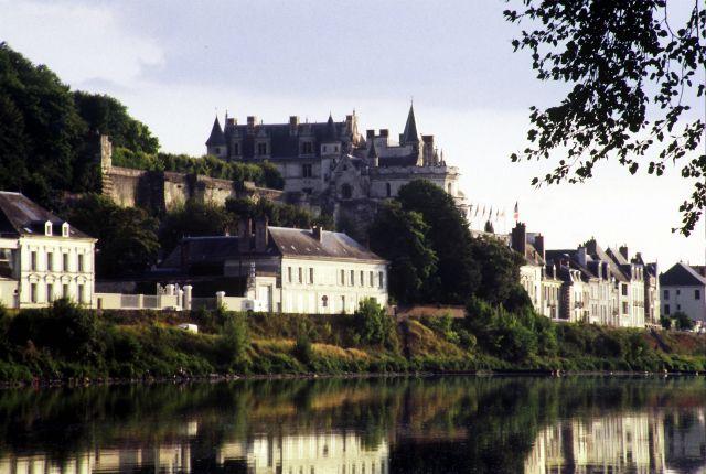 Zdjęcia: zamki nad Loarą, zamek w Amboise, FRANCJA