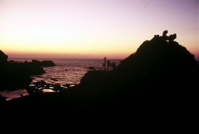 Zdjęcia: Biarritz, zmierzch nad At;antykiem, FRANCJA