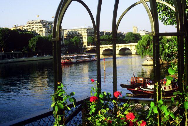 Zdjęcia: Paryż, widok z mostu, FRANCJA