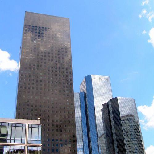 Zdjęcia: Paryż, dzielnica La Defense, Manhattan na La Defense, FRANCJA