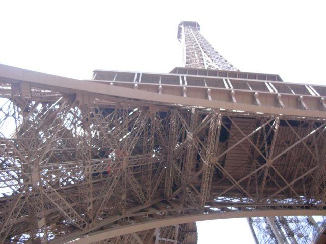 Zdjęcia: Paryż, od dołu, FRANCJA