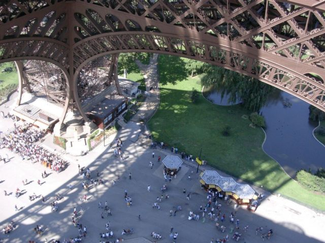 Zdjęcia: Paryż, z góry, FRANCJA