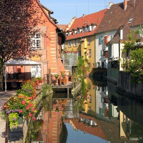 Zdjęcia: Colmar, Kaysersberg, Riquewihr, Alzacja, miasteczka na szlaku wina, FRANCJA