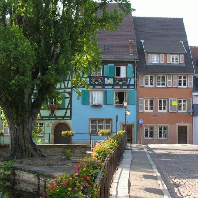 Zdj�cia: Colmar, Kaysersberg, Riquewihr, Alzacja, miasteczka na szlaku wina, FRANCJA