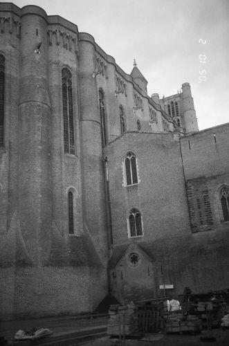 Zdjęcia: Francja, Albi - fragment katedry, FRANCJA