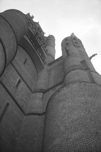 Zdjęcia: Francja, Albi - ściany katedry, FRANCJA