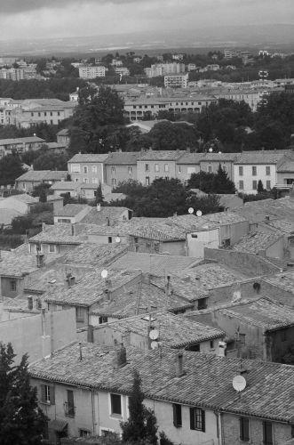 Zdjęcia: Francja, Carcassonne - widok na miasto z murów, FRANCJA