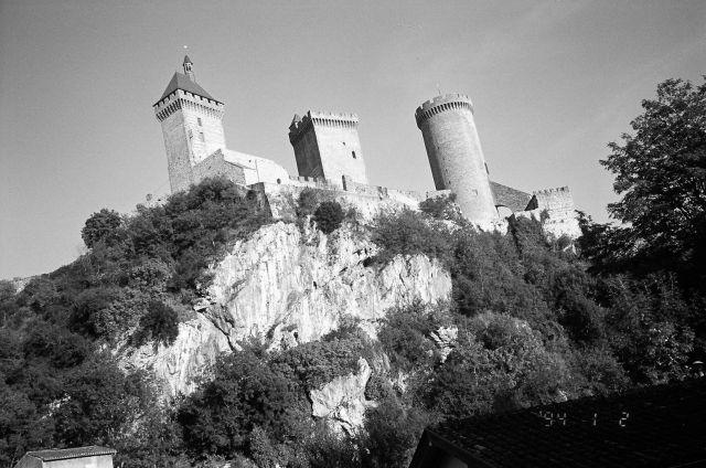 Zdjęcia: Południowa Francja, Foix - zamek, FRANCJA