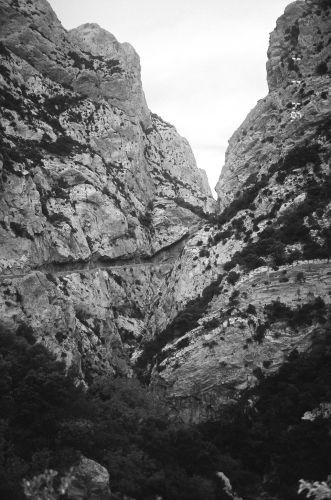 Zdjęcia: Południowa Francja, Gorges du Galamus, FRANCJA