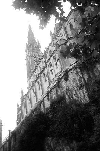 Zdjęcia: Południowa Francja, Lourdes - bazylika, FRANCJA
