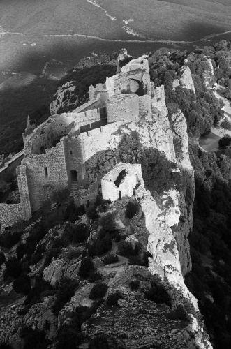 Zdjęcia: Południowa Francja, Katalonia, Peyrepertuse - zamek Katarów, FRANCJA