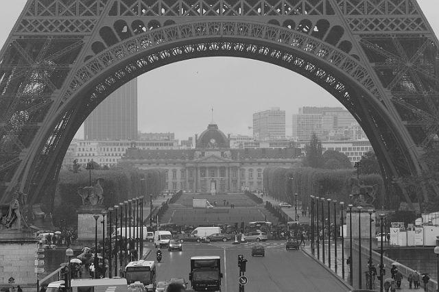 Zdjęcia: Paryż, Pod wieżą, FRANCJA