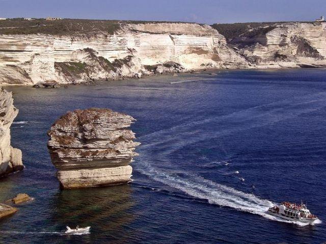 Zdjęcia: Bonifaccio, Korsyka, Białe klify, FRANCJA
