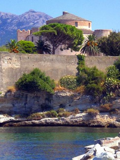 Zdjęcia: St Florent, Korsyka, Fortyfikacje, FRANCJA