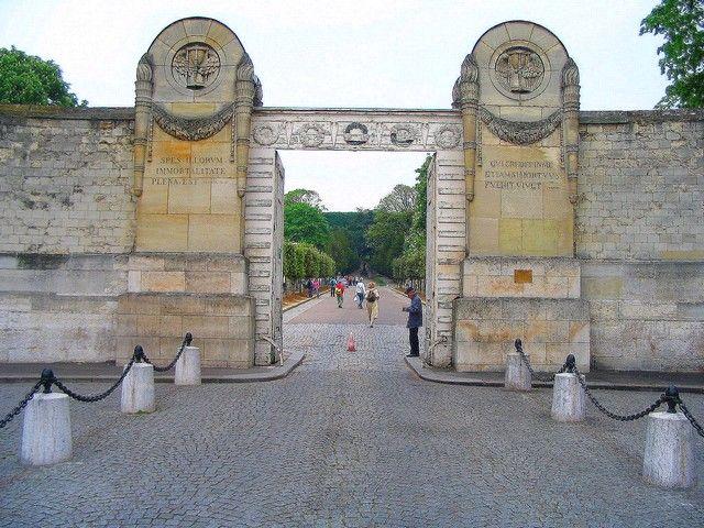 Zdjęcia: Paryż ,  Brama Cmentarza Pere-Lachaise, FRANCJA