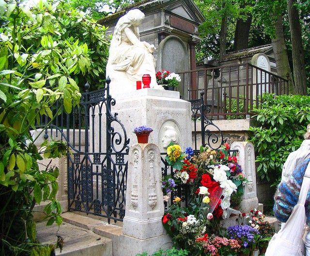 Zdjęcia: Paryż -   Cmentarz Père - Lachaise, Grób Fryderyka Chopina, FRANCJA
