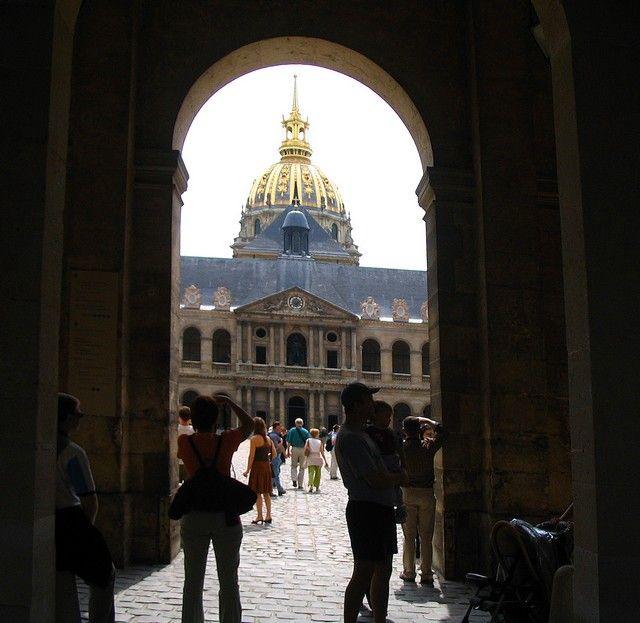 Zdjęcia: Paryż, Pałac Inwalidów z sarkofagiem Napoleona Bonaparte, FRANCJA