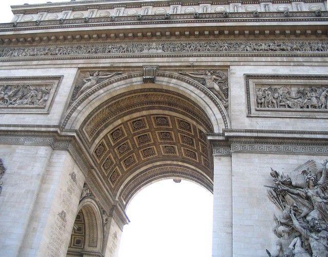 Zdjęcia: Paryż, fragment paryskiego Łuku Tryumfalnego, FRANCJA