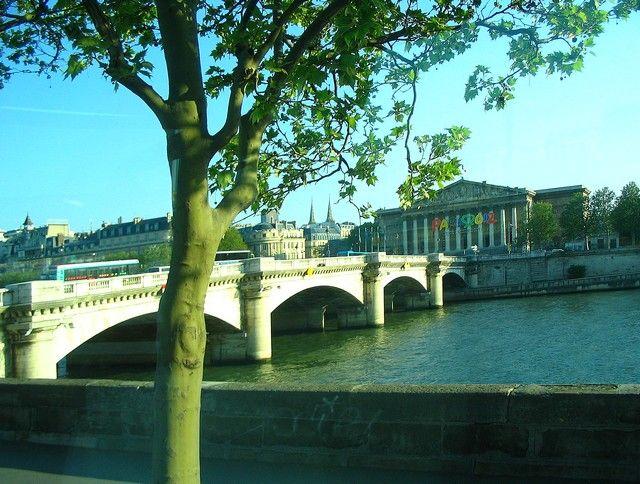 Zdjęcia: Paryż, most paryski, FRANCJA