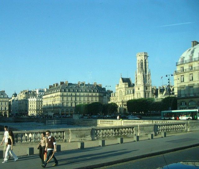 Zdjęcia: Paryż, za Sekwaną - katedra Notre - Dame, FRANCJA