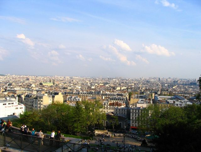 Zdjęcia: Paryż, Paryż - widok z Sacre Coeur, FRANCJA