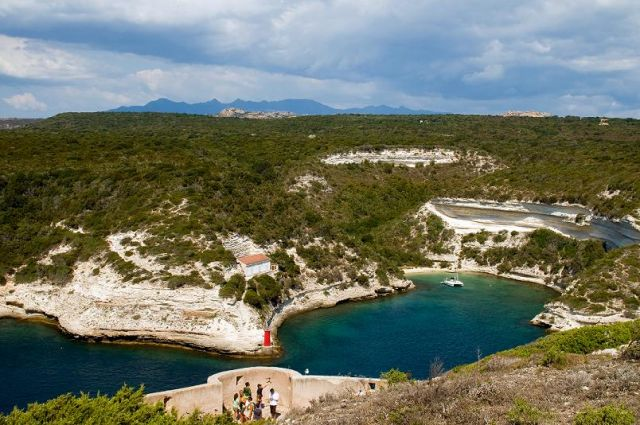 Zdjęcia: Bonifacio, -Korsyka, Zatoczka, FRANCJA