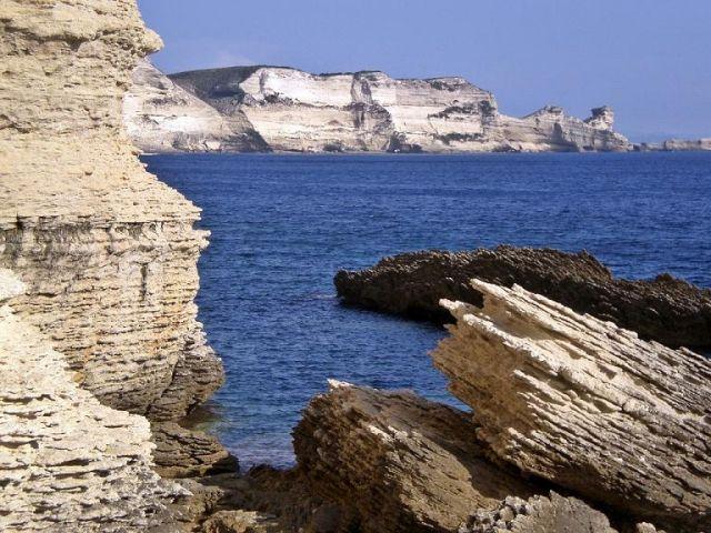 Zdjęcia: Bonifacio, Korsyka, Formacje skalne, FRANCJA