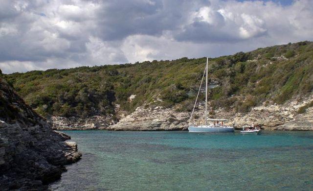 Zdjęcia: Bonifacio, Korsyka, Na morzu, FRANCJA