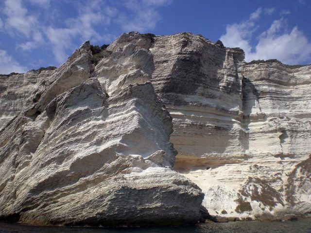 Zdjęcia: Bonifacio, Korsyka, Klify, FRANCJA