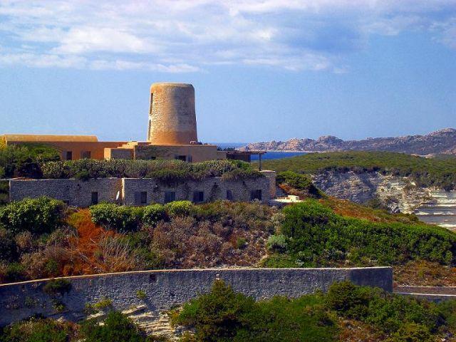 Zdjęcia: Bonifacio, Korsyka, Widok na cytadelę, FRANCJA