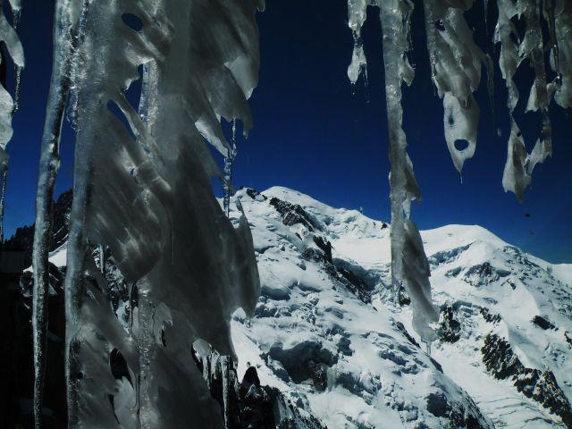 Zdjęcia: L'Aiguille du Midi, Alpy, Moje wedrowanie, FRANCJA