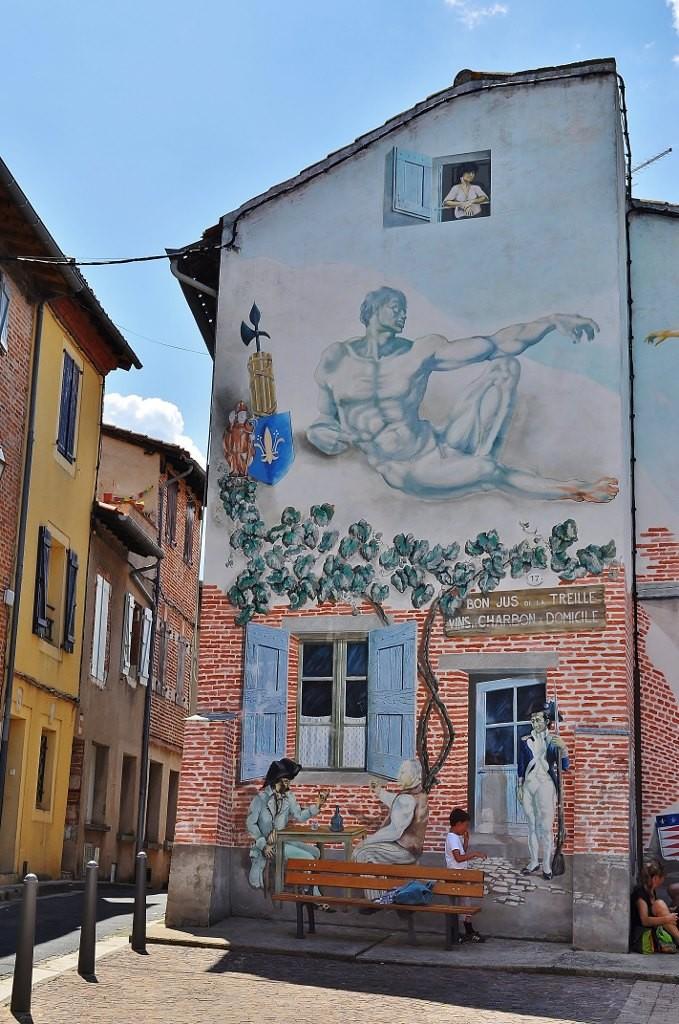 Zdjęcia: Albi, Midi-Pyrénées, Albi, uliczki, FRANCJA