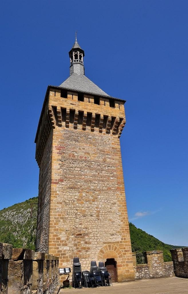 Zdjęcia: Foix, Midi-Pyrénées, Foix, wieża zamku, FRANCJA