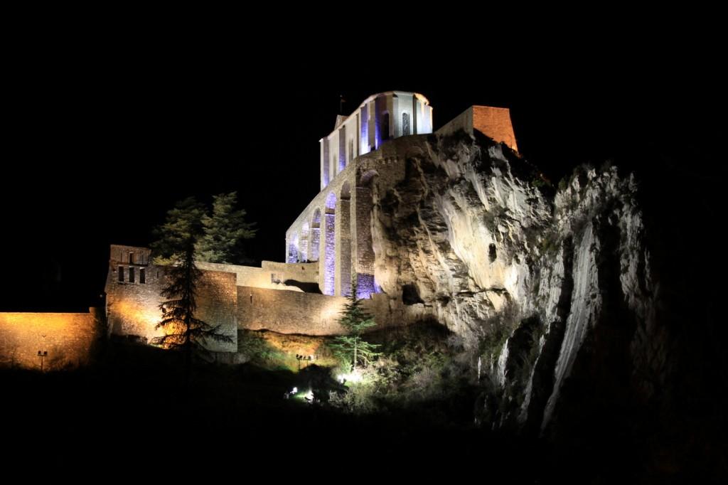 Zdjęcia: Sisteron, Prowansja, Sisteron - cytadela, FRANCJA