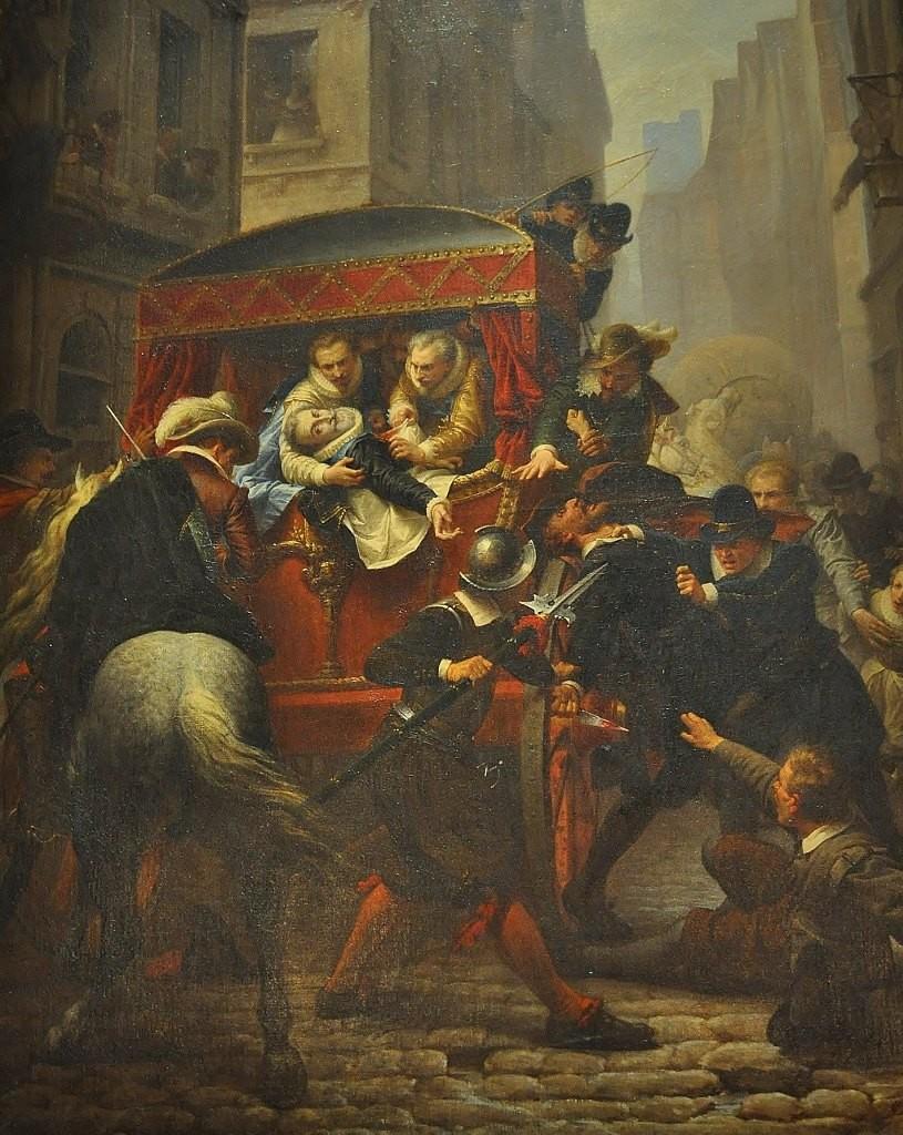 Zdjęcia: Pau, Akwitania, Pau, zamek, śmierć Henryka IV, FRANCJA