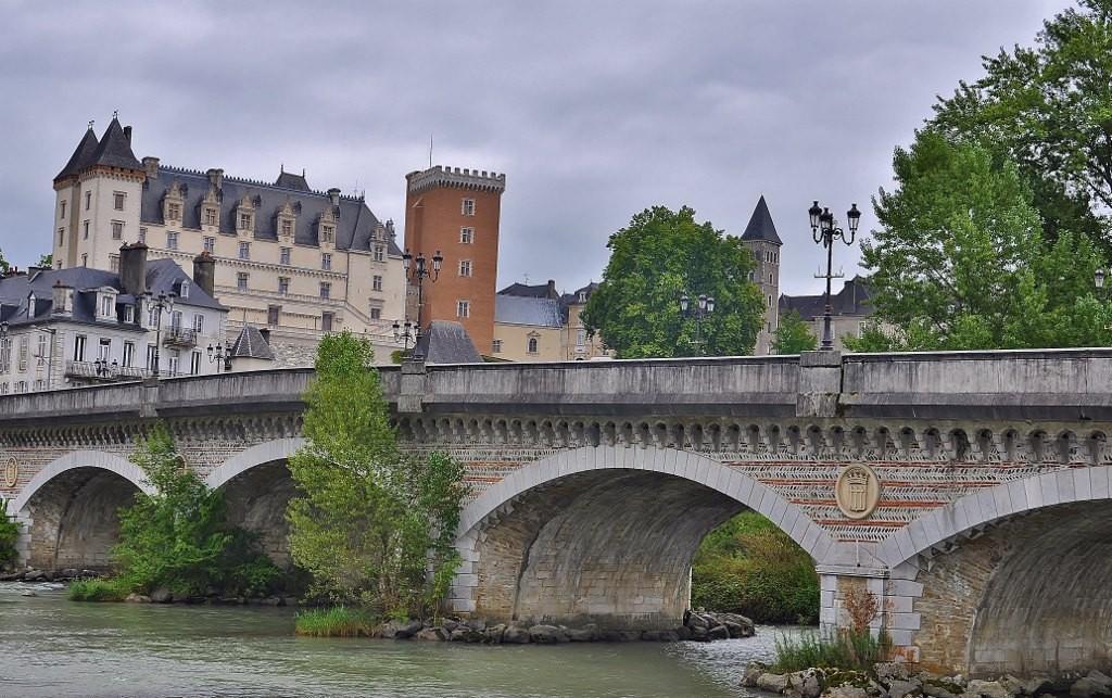 Zdjęcia: Pau, Akwitania, Foix, widok na zamek, FRANCJA
