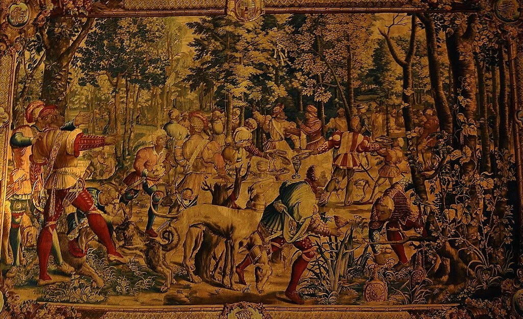 Zdjęcia: Pau, Akwitania, Pau, zamek, gobeliny, FRANCJA
